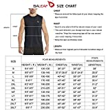 BALEAF Men's Sleeveless Tank Top Quick Dry Muscle t