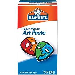 Elmer\'s Art Paste, Paper Maché, 2 Ounces (99000)