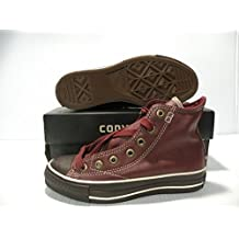 CONVERSE ALL STAR CHUCK TAYLOR LEATHER VINTAGE MEN/WOMEN SHOES 1J855 SIZE 3 5 NEW