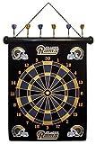 NFL Los Angeles Rams Magnetic Dart Board