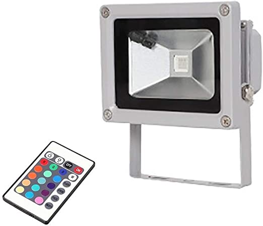 Foco led exterior, Proyector LED, 10W Reflector, Impermeable IP65 ...
