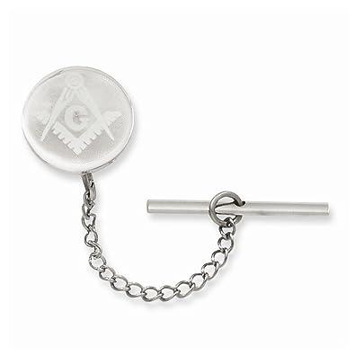 Amazon.com: ICE CARATS Kelly Waters Necklace Chain Masonic Freemason Mason Tie Tac Man Bar/Fashion Jewelry Ideal Gifts For Women Gift Set From Heart: ICE ...