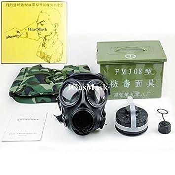 igasmask chino Militar máscara de gas FMJ08