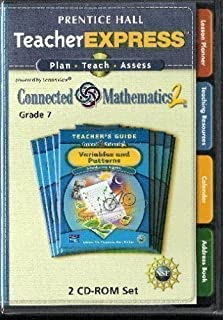 Exam view test bank grade 6 8 connected mathematics 2 prentice connected mathematics 2 grade 7 prentice hall teacher express cd rom fandeluxe Image collections