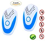 Ultrasonic Pest Control Repeller 2018 Effective Device Mosquito Repellent Plug In Home Indoor and Outdoor Warehouse Get Rid for Mouse, Spiders, Mosquitoes, Bed Bugs, Roaches, Fleas, Flies, Ants
