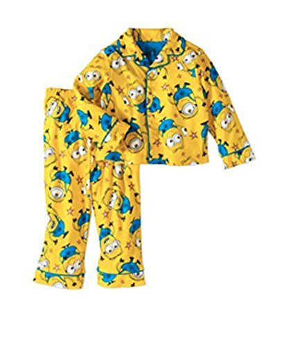 Despciable Me 2 Piece Pajama Set for Toddlers (3T) - High Altitude Chip