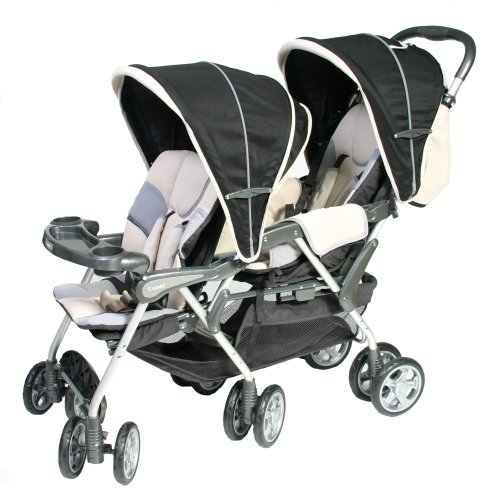 Amazon.com : Combi Counterpart Tandem Stroller Night Rider ...