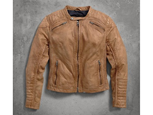 Harley-Davidson Women's Buff Damen Leder Jacke, 97154-16VW