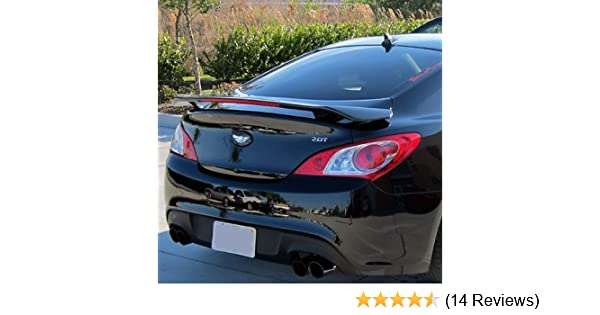 Accent Spoilers NDA Factory Style Spoiler-Nordschleife Gray Metallic Paint Code Spoiler for a Hyundai Genesis Coupe 2 dr