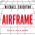 Airframe Audiobook by Michael Crichton Narrated by Frances Cassidy