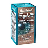 Health Aid EyeVit – Prolonged Release (Riboflavin, Vit A, Bilberry, Lutein ++) 30 Tablets Review