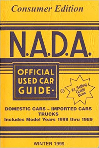 Read Nada Official Used Car Guide Winter 1999 (Winter 99) PDF, azw (Kindle)