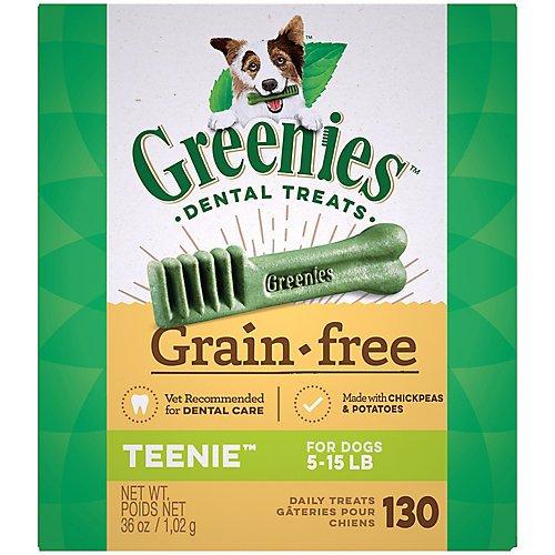 Greenies Grain Free Dog Dental Chew Teenie 27oz