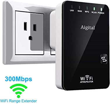 WiFi Extender-Mini Range Extender,N300 Wireless Repeater For 2.4GHz Internet /""