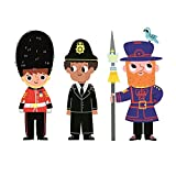 London Stationery: Character Print x3