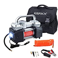Product Description Specifications Certification:CE Certification Power: DC12V, 25A Max pressure: 150PSI Air flow: 70L/min Measurement: 9.4 x 4.4x 7 inches Package Weight: 7.2 lbs After sales service: The after-sale time of the GSPSCN Tire In...