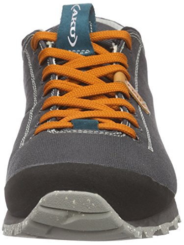 AKU Bellamont Air - Zapatillas de deporte exterior Unisex adulto Gris - Grau (ANTHRACITE/ORANGE)