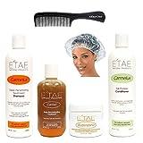 E'tae Natural Product Kit: Shampoo+Conditioner+Treatment+Butter Shine