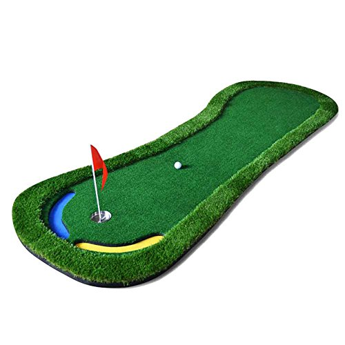 PGM 9.84 FT Golf Putting Green System Professional Practice Green Long Challenging Putter Indoor/outdoor Golf Training Mat Aid Equipment
