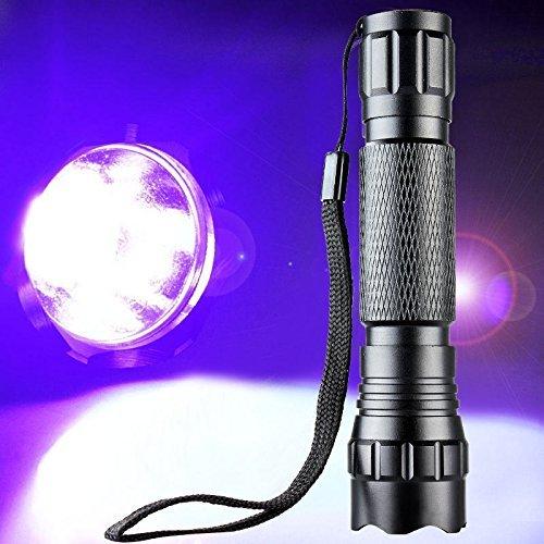 Luxeon Watt Led Light 3 - XY ZONE WF-501B 3W 200lumen UV Ultraviolet Luxeon LED Flashlight Torch New
