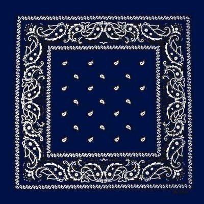 PURECITY® Lot de 4 foulard bandana américain tour de cou paisley USA - Rouge  + 113285d67d2