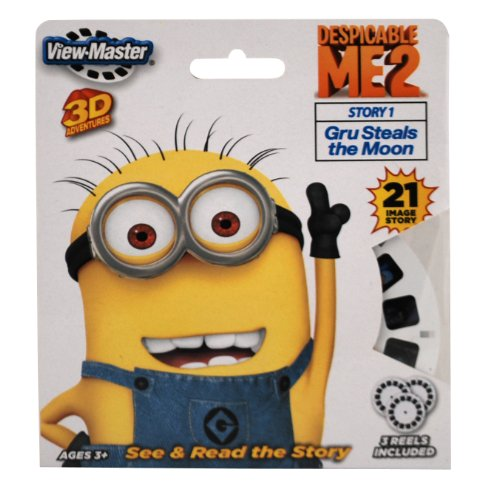 ViewMaster 3 Reel Set - Despicable Me 2 (Viewmaster Reel)