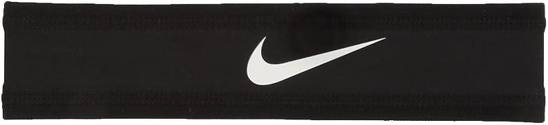 Nike Speed Performance Headband(Black/White, Osfm): Clothing