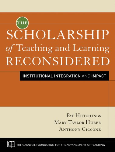 The Scholarship of Teaching and Learning Reconsidered: Institutional Integration and Impact