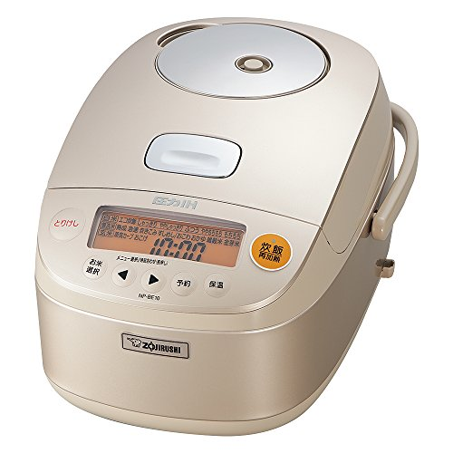 Zojirushi IH pressure rice cooker Iron coat platinum Atsukama 5.5 Go Champagne Gold NP-BE10-NZ (Best Rice Cooker Nz)