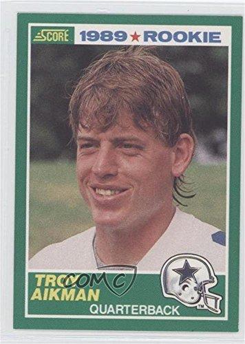 Troy Aikman (Football Card) 1989 Score - [Base] ()