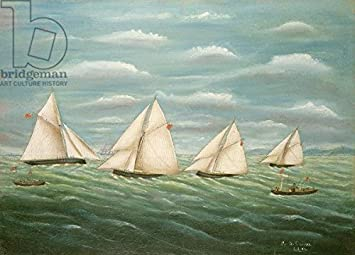 Alu Dibond Bild 40 X 30 Cm: U0026quot;Regatta Off The Long