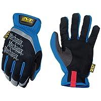Mechanix Wear - Guantes de trabajo FastFit (Mediano, Azul)