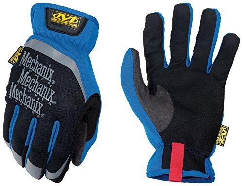Mechanix Wear - FastFit Work Gloves (Large, Blue)