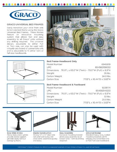 Graco Bed Frame Conversion Kit