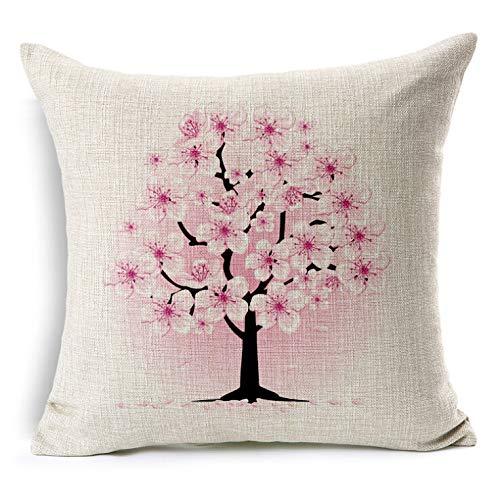 Amazon.com: vvv123 Flower Decorative Pillows Home Car Tree ...