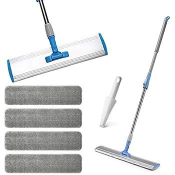 Amazon Com Wet Mop 18 Quot Microfiber Mop Dry Mop For Home