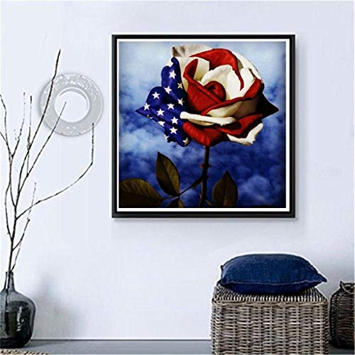 - FAERIE 5D DIY Diamond Painting Embroidery Round Diamond Home Decor Gift (C)