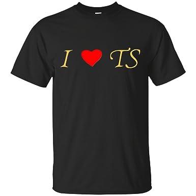 52039af8e047a0 Amazon.com  LWYMMD I Love TS T-Shirt  Clothing