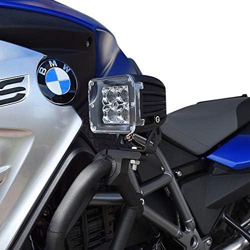 Kabelbaum Motorrad Zusatzscheinwerfer ZS12 f/ür BMW R 1200 GS//Adventure//Exclusive//Rallye LED Lumitecs 9-32V 20 Watt inkl