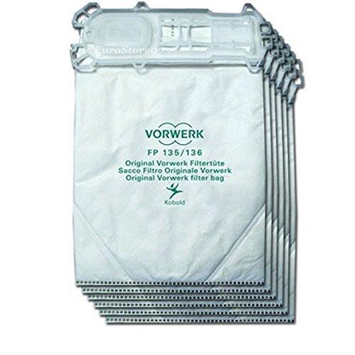 6 sacchetti originale per folletto vk 135 136 - Folletto kobold 135 prezzo ...