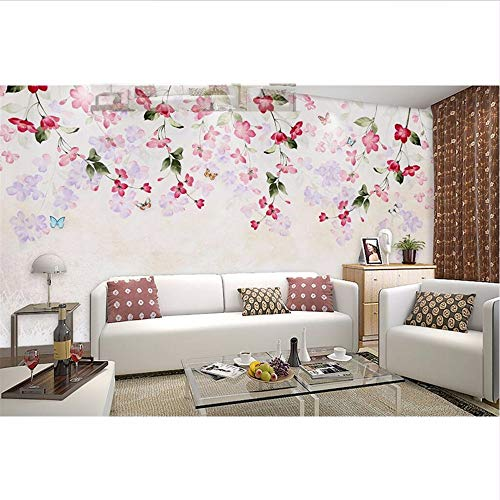 Price comparison product image Lifme Wallpapers Photo Custom 3D Photo Wall Mural Retro Sofa Tv Background Wall Murals for Living Room Home Decor Wall Coverings-400X280Cm