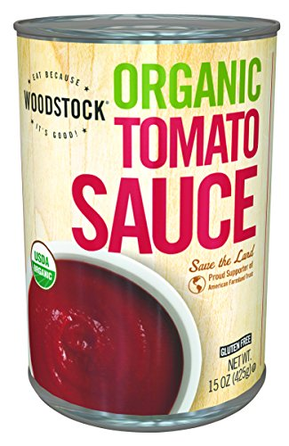 Woodstock Tomato Sauce, Organic, Unsalted, 15-Ounce (Pack of 12) (Unsalted Canned Tomatoes compare prices)
