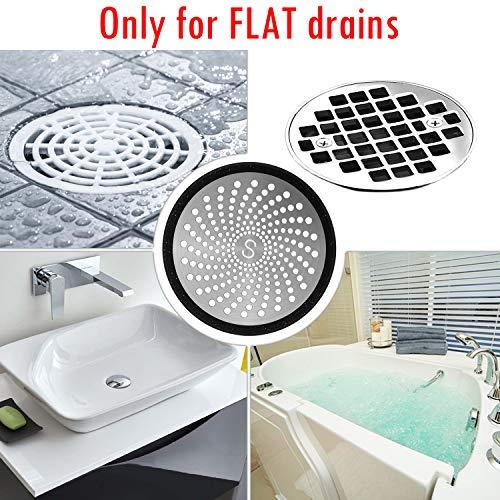 Amazon.com: Tapón para desagüe de ducha, para bañeras y ...