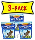 3 Packs Zuke's Hip Action with Glucosamine and Chondroitin – BEEF (3 lb), My Pet Supplies
