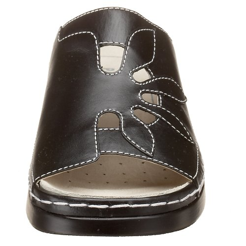 Slide Sunburst Women's Smooth Black Walker Propet tHqgF5