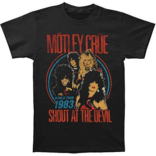 Motley Crue T-shirt Vintage Shout At Devil 30/1-xxl