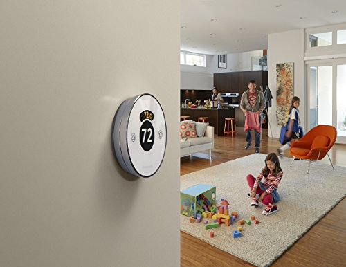 Lyric Round 2.0 Wi-Fi Smart Programmable Thermostat with Geofencing, IFTTT, Works with Amazon Alexa by Honeywell (Image #4)