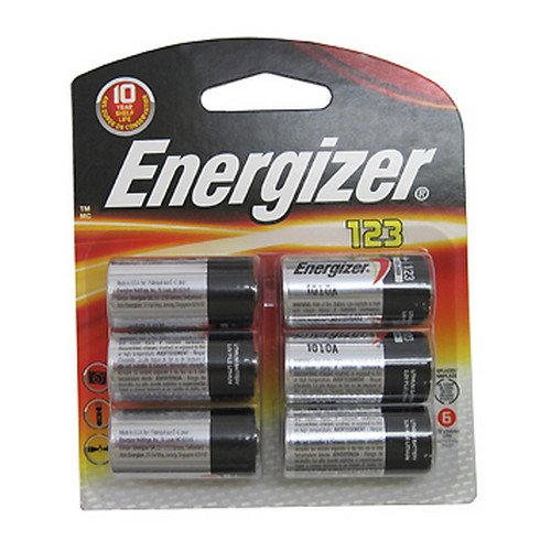 Energizer Photo Battery 123, 24 Batteries by Energizer