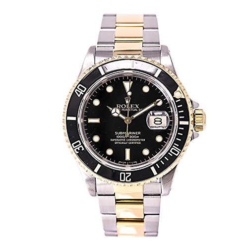 Rolex Submariner automatic-self-wind mens Watch 16613 (Certified Pre-owned) by Rolex