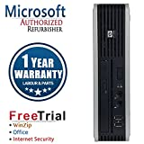 Refurbished - HP Compaq DC7900 Ultra-Small Form Factor Intel Core 2 Duo E8400 3.0GHz, 4GB DDR2 Memory, 80G Hard Drive, Wifi, Windows 7 Professional 64-bit, 1 Year Warranty